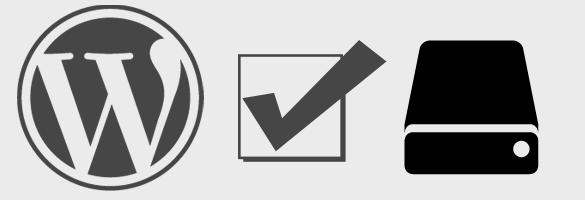 WordPress backup maken & terughalen