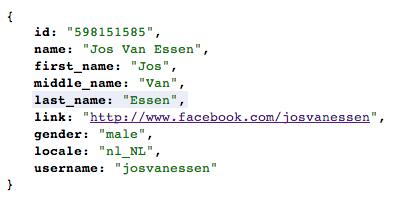Dit ben ik, als mijn open graph object op Facebook